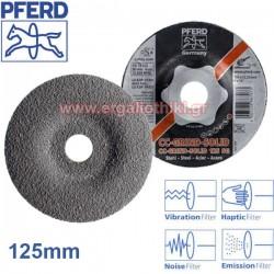 PFERD CC GRIND SOLID Φ125mm Δίσκος λειάνσεως μετάλλων