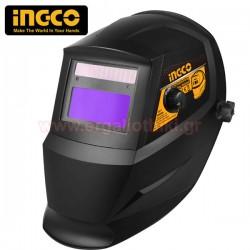 INGCO AHM008 Μάσκα ηλεκτροκόλλησης ηλεκτρονική ρυθμιζόμενη