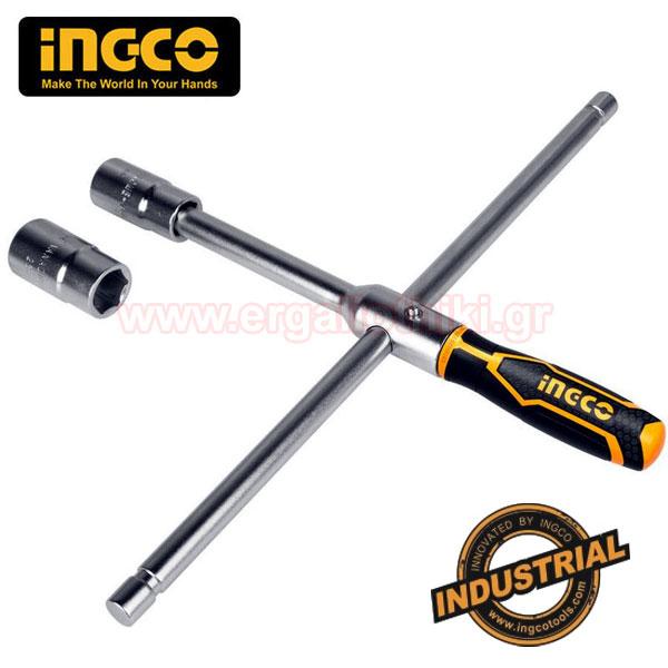 INGCO HRCW40231 Τροχόκλειδο - σταυρός αλλαγής ελαστικών