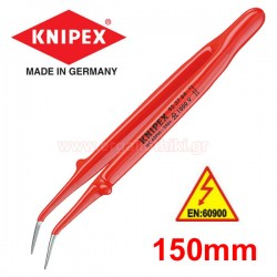 KNIPEX 923764 Τσιμπίδα ακριβείας 1000V κυρτή 150mm