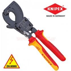 KNIPEX 9536250 Κόφτης καλωδίων με καστάνια 1000V