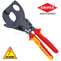 KNIPEX 9536280 Κόφτης καλωδίων με καστάνια 1000V