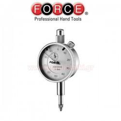 FORCE TOOLS 891A01 Ωρολογιακό μικρόμετρο - ρολόι γράφτη κεντραρίσματος