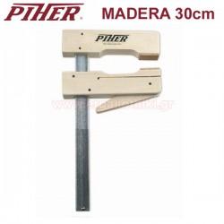 PIHER MADERA 30 Σφικτήρας με ξύλινες σιαγόνες