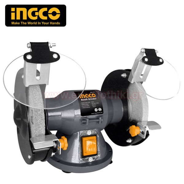 INGCO BG83502 Δίδυμος τροχός πάγκου Φ200mm