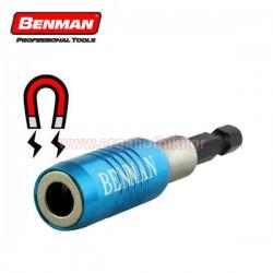 "BENMAN TOOLS 70399 Αντάπτορας μαγνητικός για μύτες 1/4"""