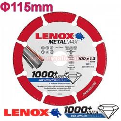 LENOX METALMAX 115-1.3mm Μεταλλικός δίσκος κοπής μετάλλων (1985010)