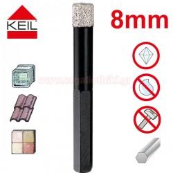 KEIL Keramik Diamond Dry Drill Διαμαντοτρύπανο 8mm