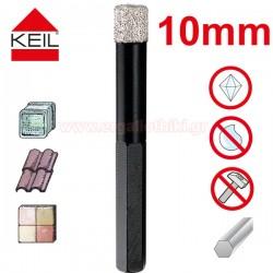 KEIL Keramik Diamond Dry Drill Διαμαντοτρύπανο 10mm