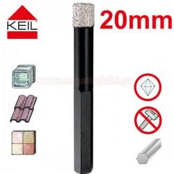 KEIL Keramik Diamond Dry Drill Διαμαντοτρύπανο 20mm