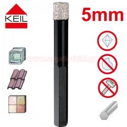 KEIL Keramik Diamond Dry Drill Διαμαντοτρύπανο 5mm