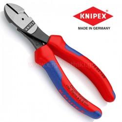KNIPEX 7402160 Πλαγιοκόπτης Ατσαλοσύρματος