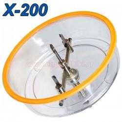 POWER X-200 Ποτηροτρύπανο γυψοσανίδας Φ40-203mm