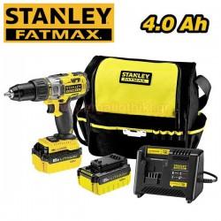 STANLEY FATMAX FMC625M2S 18V 4Ah Κρουστικό δραπανοκατσάβιδο
