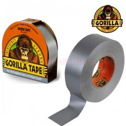 GORILLA SILVER TAPE 48mm x 32m Αυτοκόλλητη ταινία υφασμάτινη ασημί