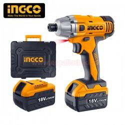INGCO CIDLI228181 Παλμικό κατσαβίδι μπαταρίας 18V