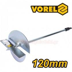 VOREL 05823 Τρυπάνι αφρομπετόν (ytong) 120mm.