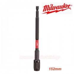 MILWAUKEE 48-32-4532 Αντάπτορας μαγνητικός 152mm SHOCKWAVE.