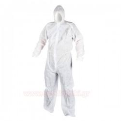 PASCO TOOLS 00567 Φόρμα λευκή μιας χρήσης