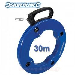 SILVERLINE 675211 Ατσαλίνα ηλεκτρολόγου 30m