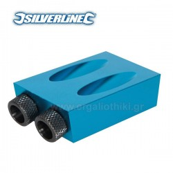 SILVERLINE 868549 Οδηγός τρυπήματος - ένωσης γωνιών 6, 8,10mm