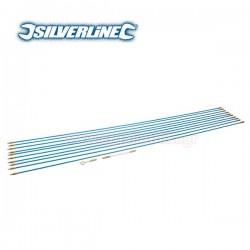 SILVERLINE 633531 Ατσαλίνα ηλεκτρολόγου 10m