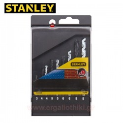 STANLEY STA 56000 Σειρά τρυπάνια μετάλλων - δομικών υλικών