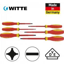 WITTE 670027200 Σειρά κατσαβίδια ηλεκτρολόγων 1000V