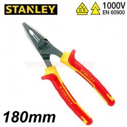 STANLEY 0-84-001 Πένσα 180mm VDE 1000V