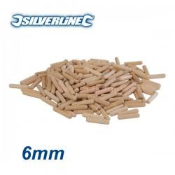 SILVERLINE 633751 Καβίλιες 6mm 200τεμ.