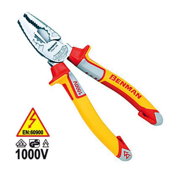 BENMAN 77547 Πένσα ηλεκτρολόγων 1000V VDE 180mm