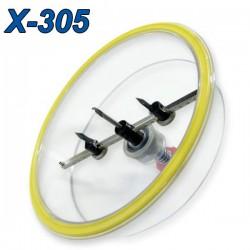 POWER X-305 Ποτηροτρύπανο γυψοσανίδας Φ48-305mm