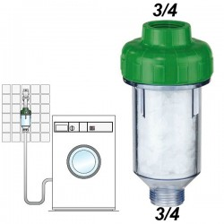 "DOSAL Φίλτρο νερού πλυντηρίου (διάσπασης αλάτων) 3/4"""