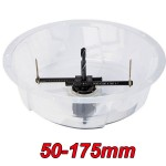 MILWAUKEE 49-56-0260 Ποτηροτρύπανο γυψοσανίδας Φ51-178mm (49560260)