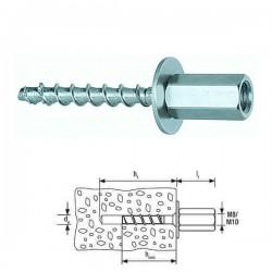 FISCHER FBS II 6x55 M8/M10 l Μπετόβιδα με μούφα (Art546401)