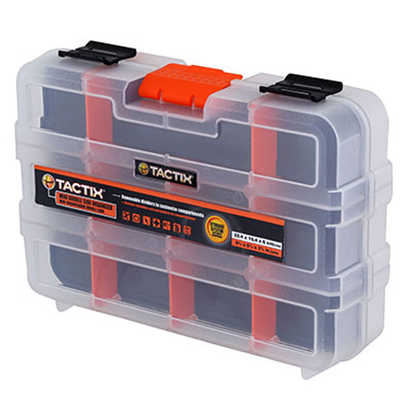 TACTIX 320042 Διπλή ταμπακιέρα - εργαλειοθήκη