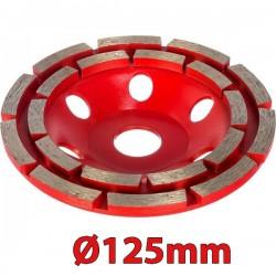 MILWAUKEE 4932451186 DCWU 125 Λειαντικός δίσκος εμφανή μπετού Φ125mm