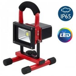 OEM Φορητός επαναφορτιζόμενος προβολέας LED 10W (απόδοσης 100W)