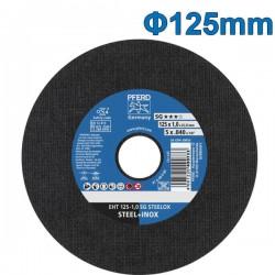 PFERD EHT 125-1.0 SG STEELOX Δίσκος κοπής 125mm