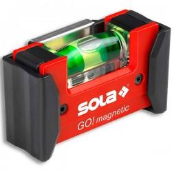 SOLA GO magnetic clip Αλφάδι τσέπης μαγνητικό με θήκη ζώνης (621201)