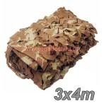 Desert Sand Δίχτυ σκίασης - παραλλαγής ερήμου 3x4m