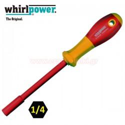WHIRLPOWER V114-612514 Κατσαβίδι αντάπτορας για μύτες 1/4