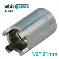 WHIRLPOWER 12741-12-240 Καρυδάκι τάπας λαδιού 4άκιδο 1/2 21mm