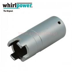 WHIRLPOWER 12741-21-210 Καρυδάκι DIESEL injection 4άκιδο μακρύ 1/2-21mm
