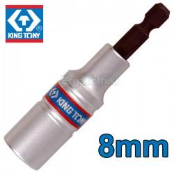 KING TONY 76B808M  Μυτοκάρυδο βαθύ 8mm