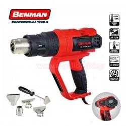 BENMAN TOOLS 76000 Πιστόλι θερμού αέρα ψηφιακό