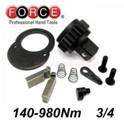 "FORCE TOOLS 64761240-P Ανταλλακτικά για δυναμόκλειδα 3/4"""