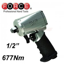 "FORCE TOOLS 825411 Αερόκλειδο μίνι 1/2"""