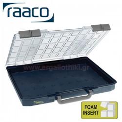 RAACO CL55-FOA κασετίνα με αφρώδες προστατευτικό