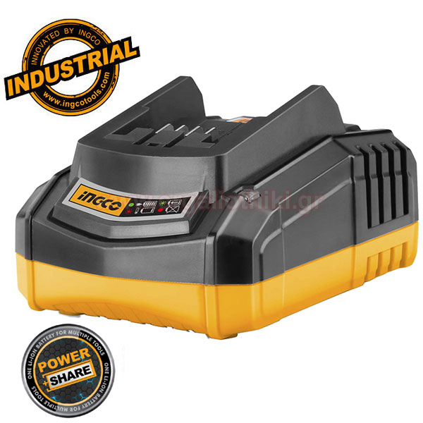 INGCO FCLI2001 Φορτιστής 20V Power+share